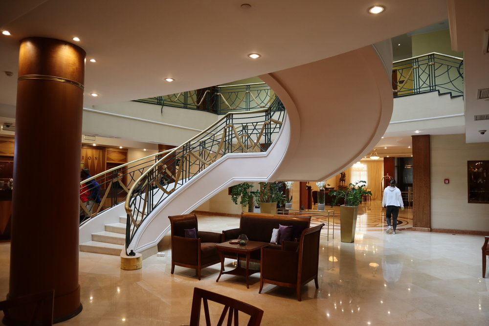 Renaissance St. Petersburg Baltic Hotel – Lobby staircase
