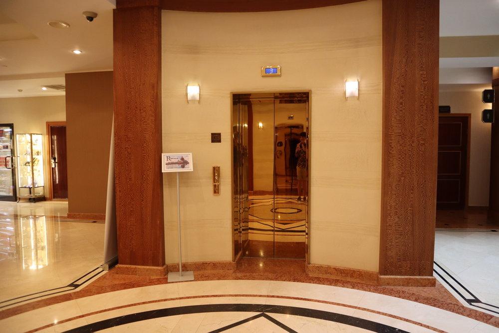 Renaissance St. Petersburg Baltic Hotel – Elevator