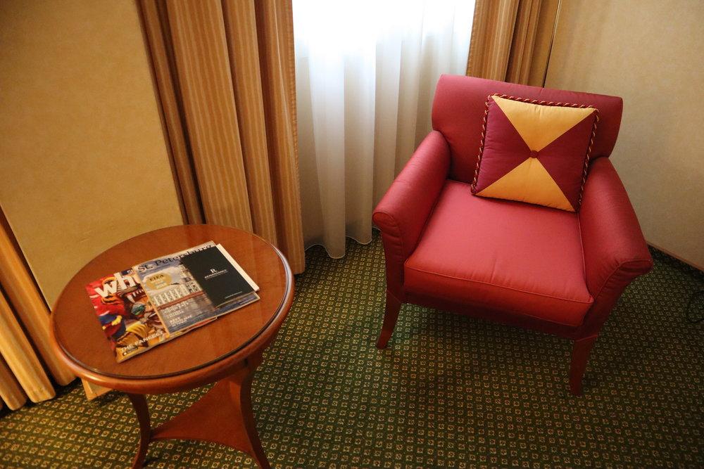 Renaissance St. Petersburg Baltic Hotel – Armchair
