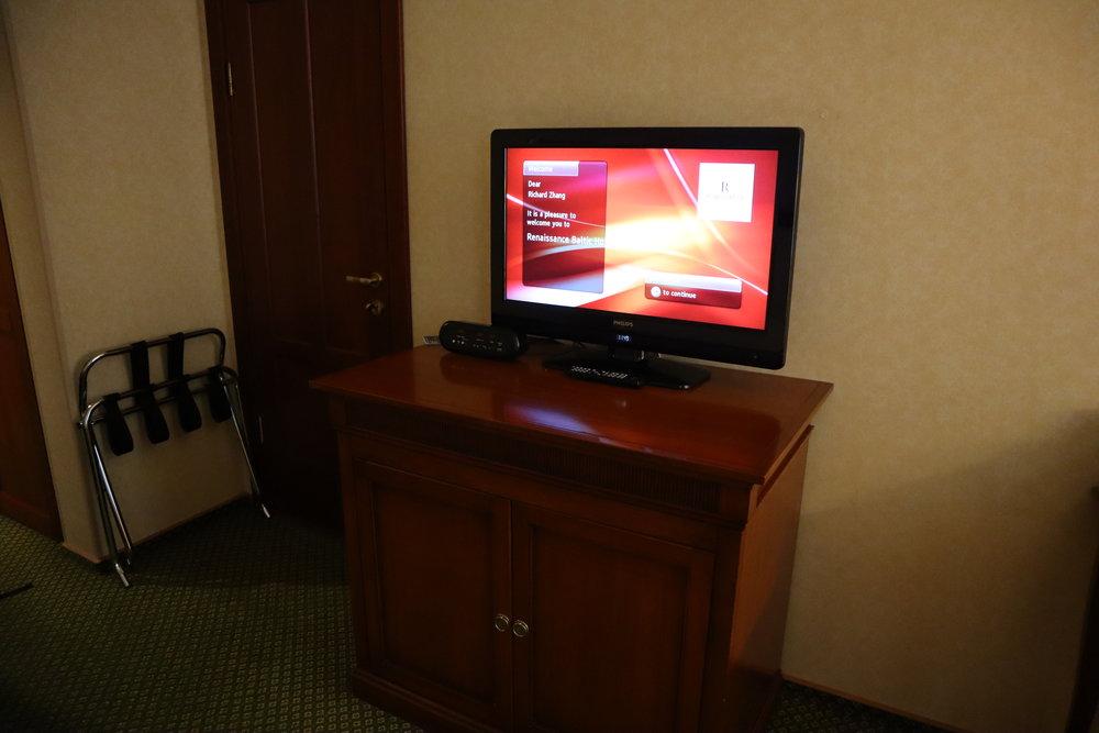 Renaissance St. Petersburg Baltic Hotel – Television