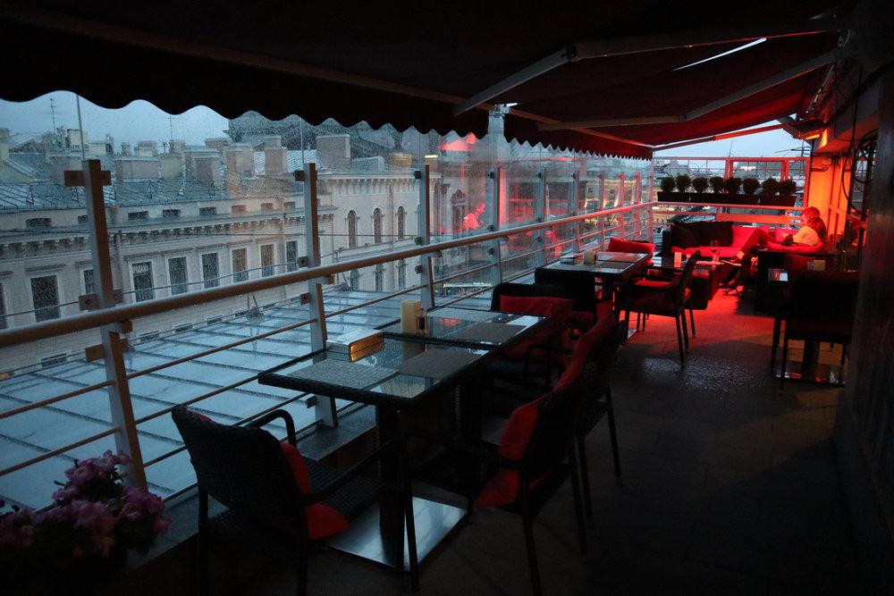 Renaissance St. Petersburg Baltic Hotel – R Terrace