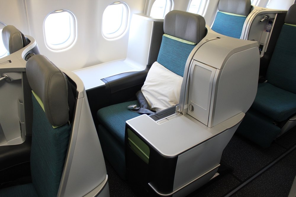 Aer Lingus A330 business class