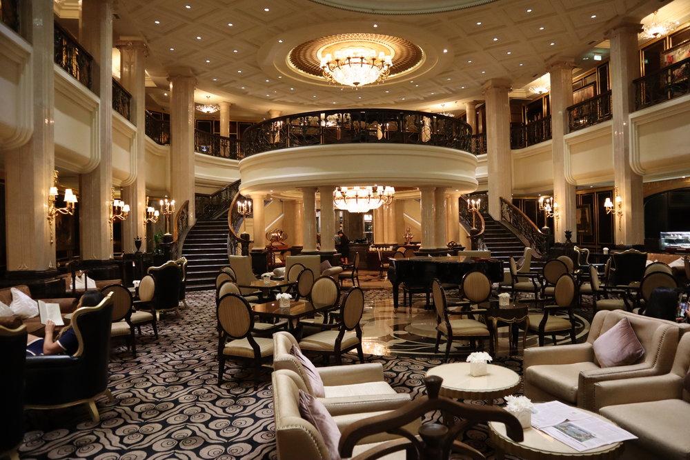 St. Regis Moscow Nikolskaya – Lobby lounge