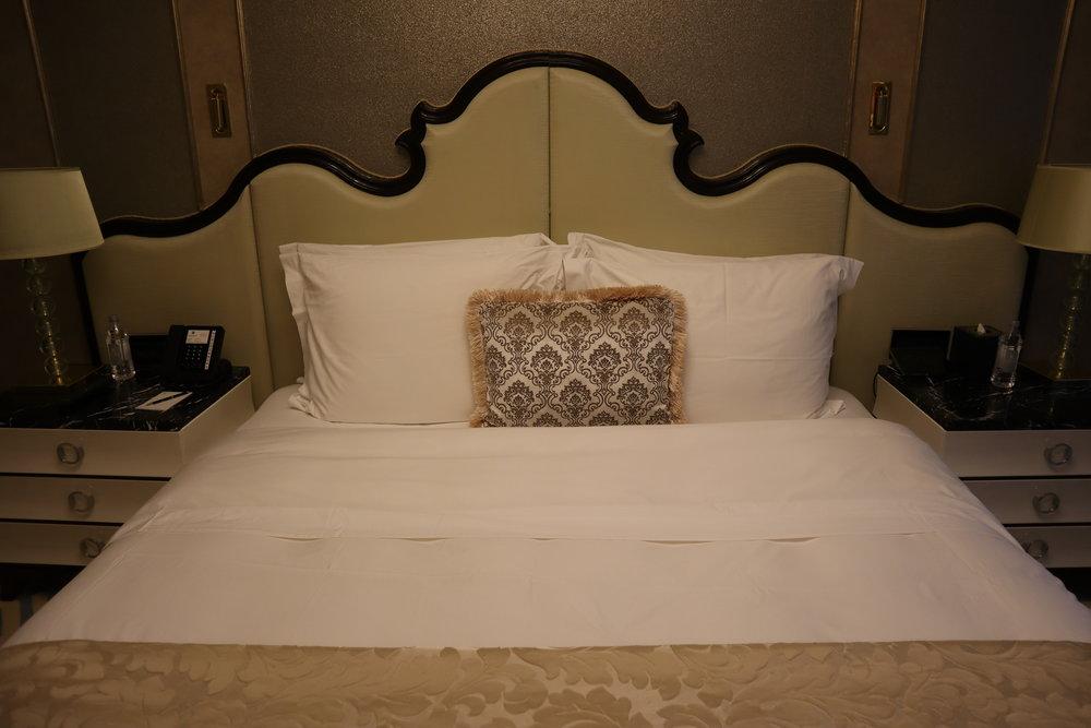 St. Regis Moscow Nikolskaya – St. Regis Suite king bed
