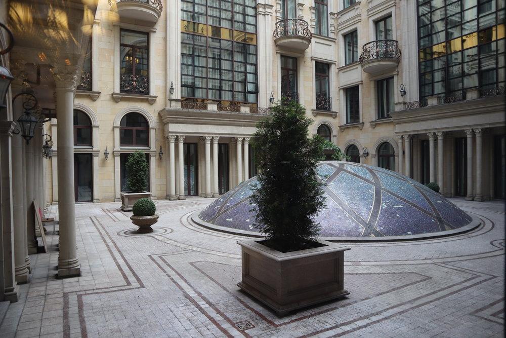 St. Regis Moscow Nikolskaya – 3rd floor courtyard