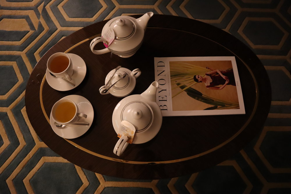 St. Regis Moscow Nikolskaya – Tea service