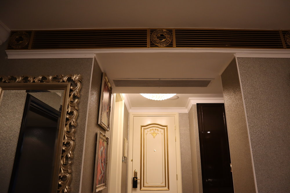 St. Regis Moscow Nikolskaya – St. Regis Suite air vents