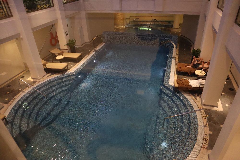 St. Regis Moscow Nikolskaya – Indoor pool