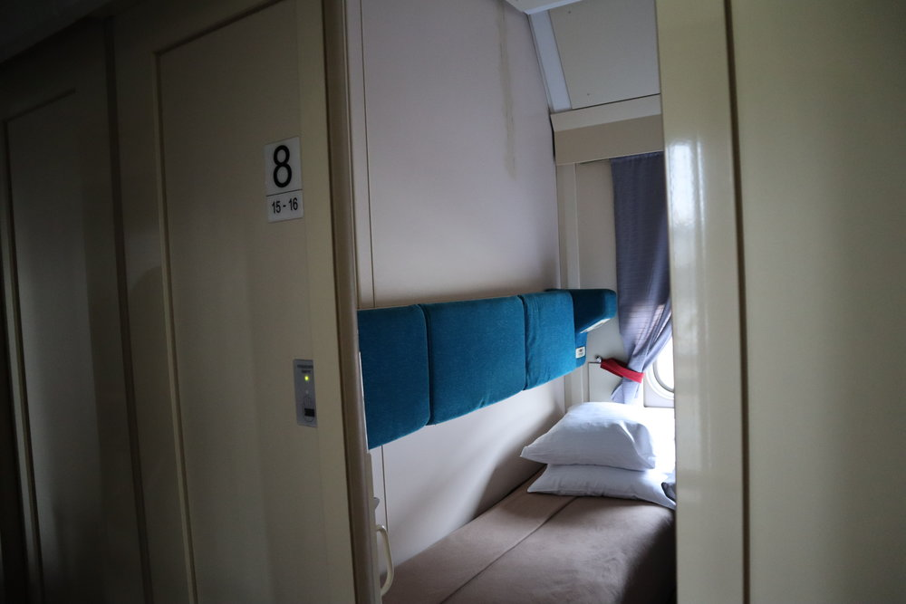 Trans-Siberian Railway First Class – Compartment 8