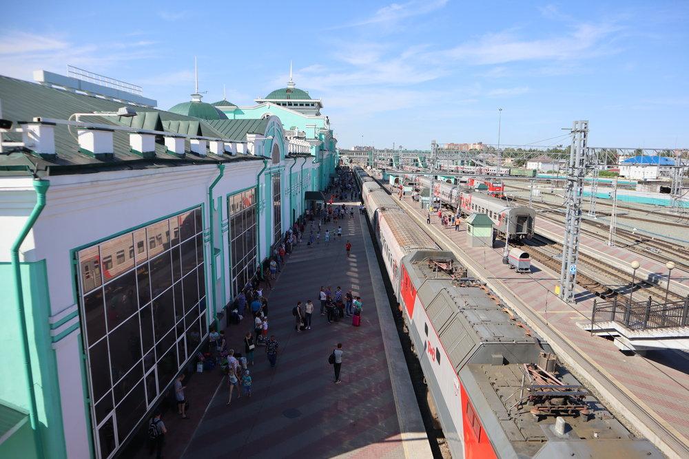 Trans-Siberian Railway First Class – Omsk, Russia