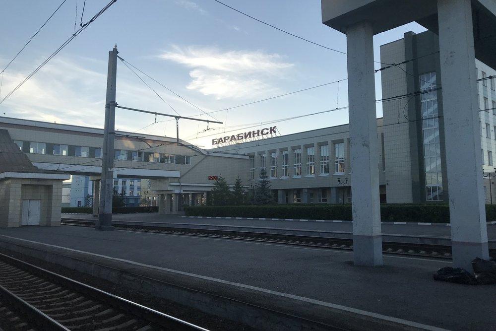 Trans-Siberian Railway First Class – Barabinsk, Novosibirsk Oblast, Russia
