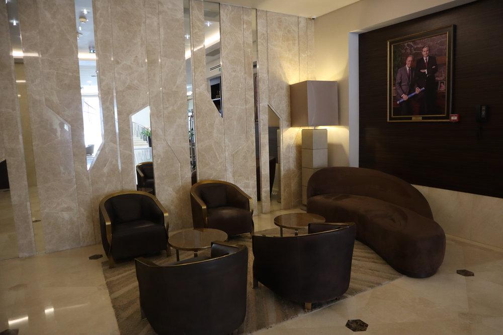 Marriott Novosibirsk – Lobby lounge
