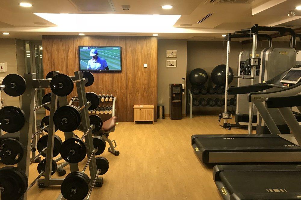 Marriott Novosibirsk – Fitness centre