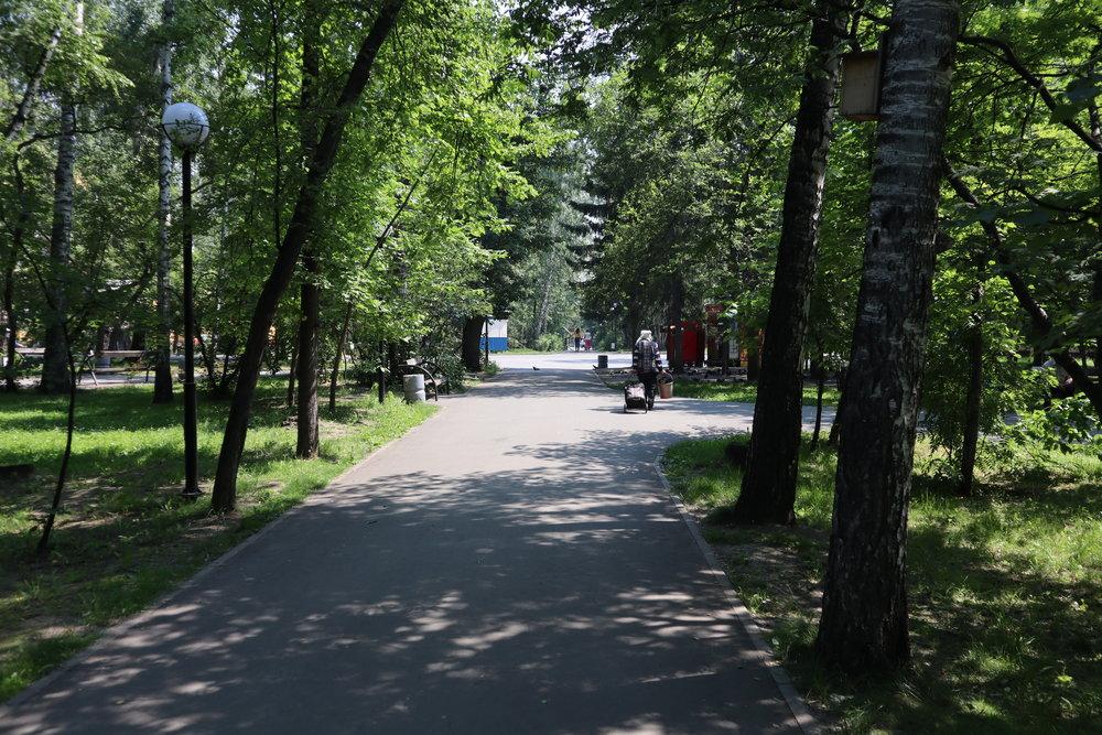 Central Park, Novosibirsk