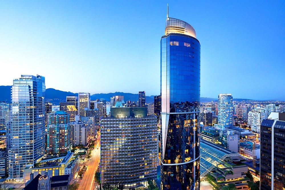 Sheraton Vancouver Wall Centre Hotel