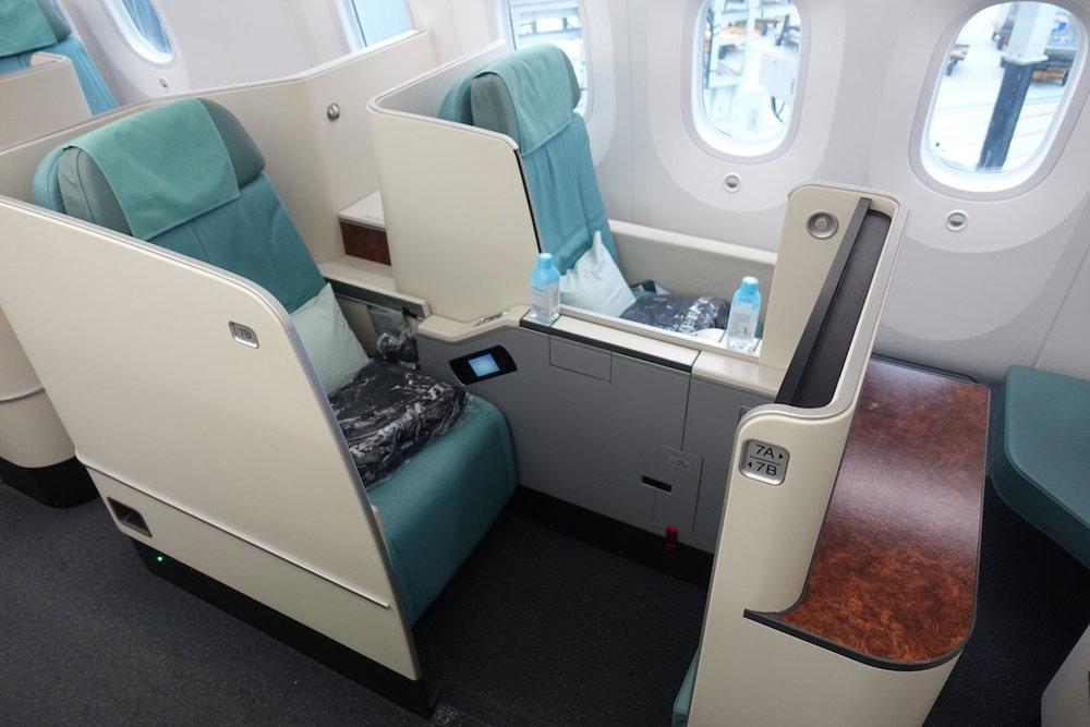 Korean Air 787 First Class