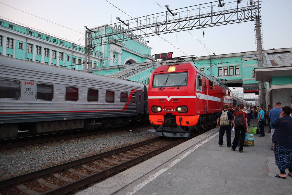 Trans-Siberian Railway – Train #270
