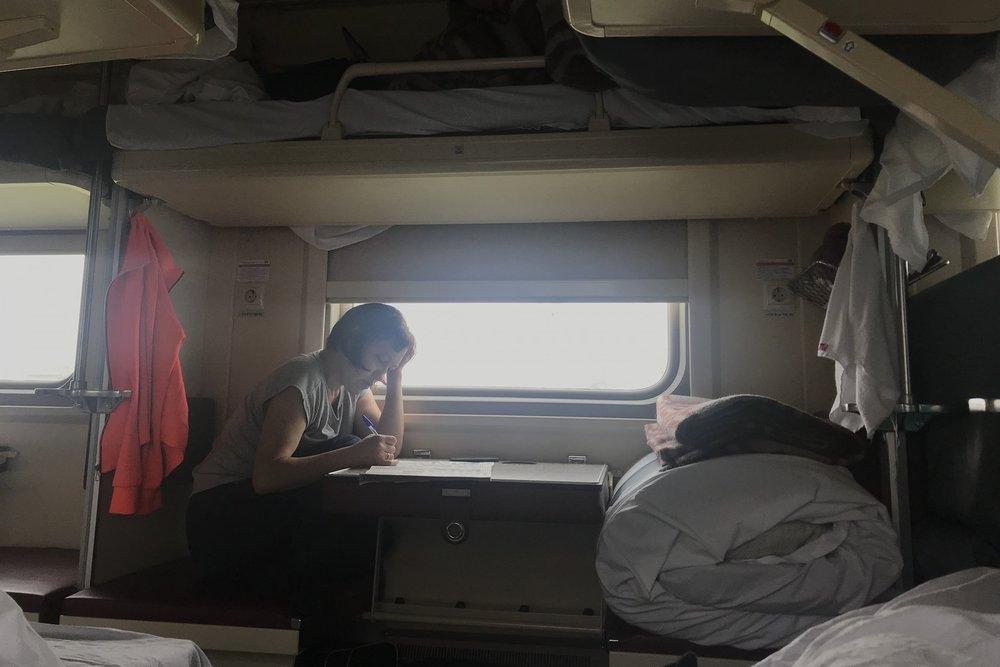Trans-Siberian Railway Third Class – Lower side bunk