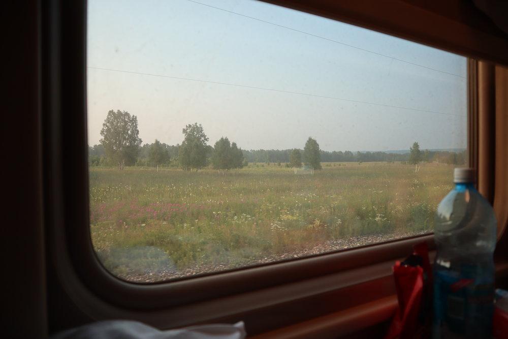 Trans-Siberian Railway Third Class – Window