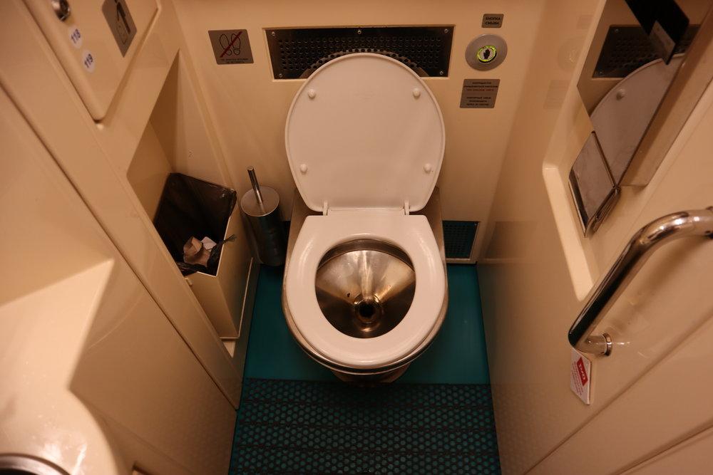 Trans-Siberian Railway Third Class – Toilet