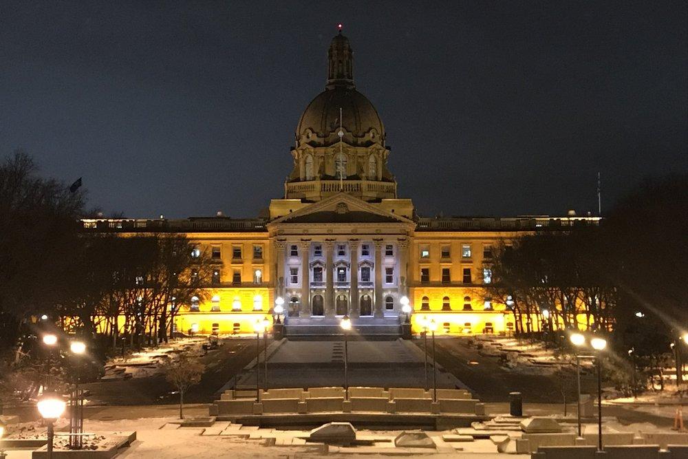 Alberta Legislature, Edmonton