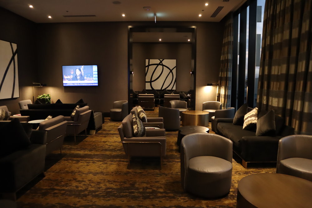 Executive Lounge at the JW Marriott Parq Vancouver