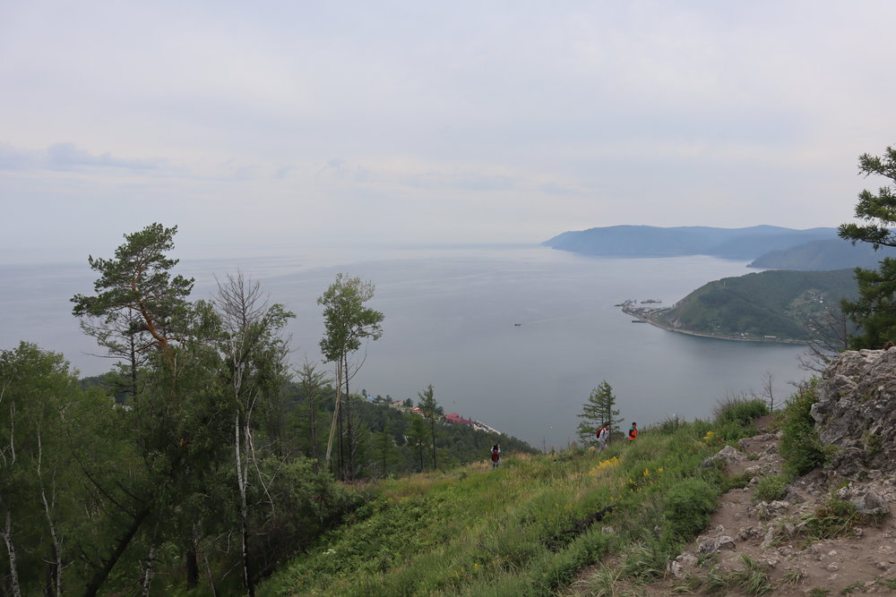 Views of Lake Baikal