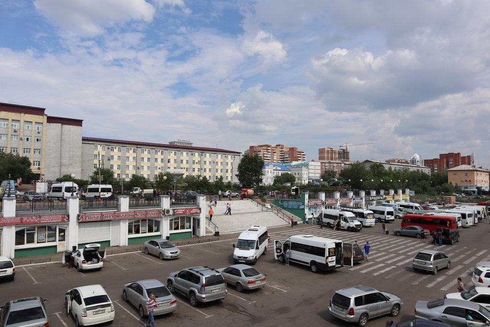 Ulan-Ude street scene
