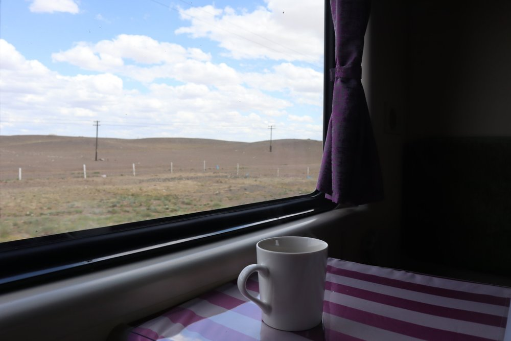 Trans-Mongolian Railway (UBTZ) Second Class – Absorbing the scenery