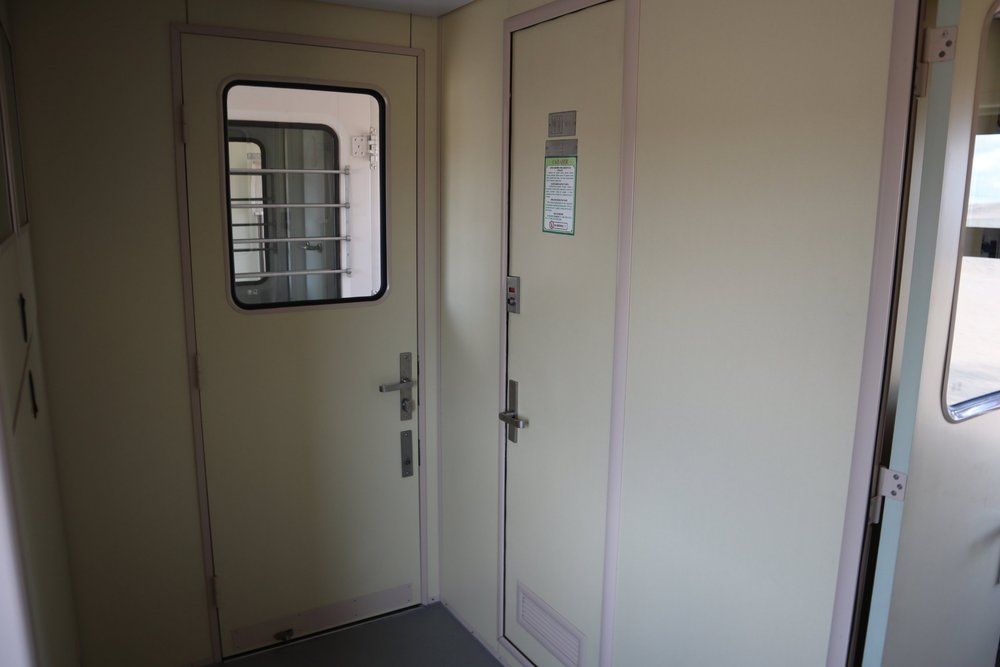 Trans-Mongolian Railway (UBTZ) Second Class – Bathroom