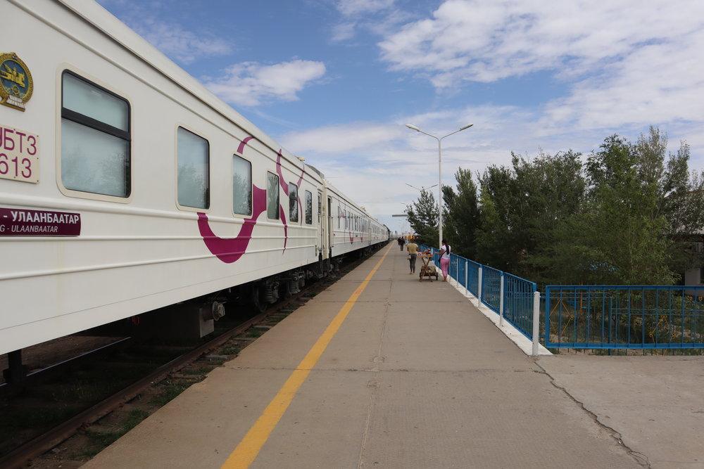 Train at Sainshand