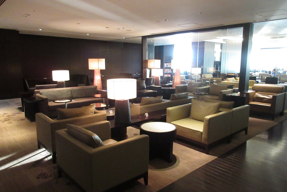 JAL First Class Lounge -