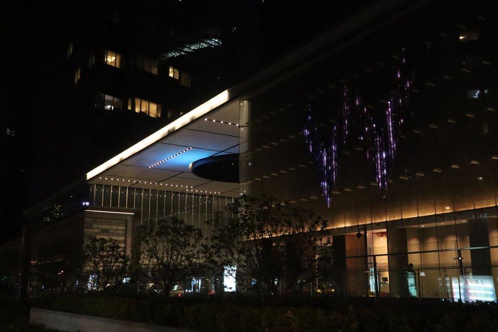 W Suzhou – Exterior facade
