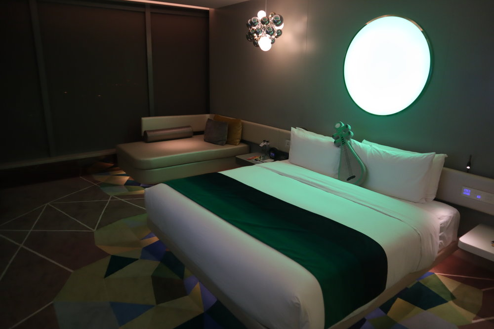 "W Suzhou – Spectacular Room ""Moon"" lighting"