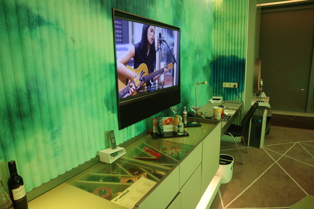 W Suzhou – Spectacular Room television
