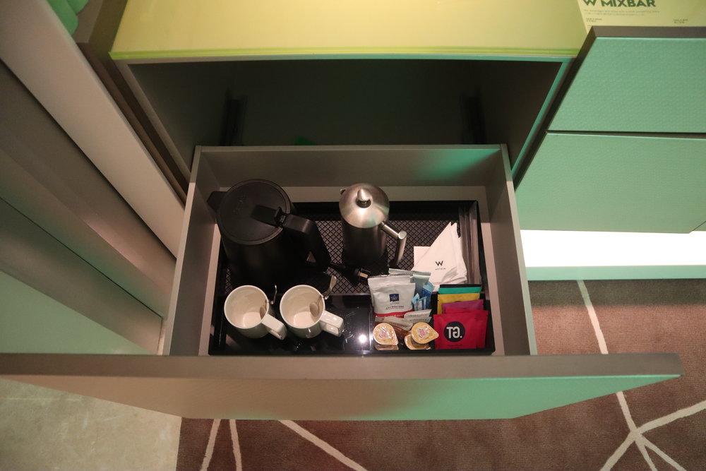 W Suzhou – Spectacular Room coffee & tea set