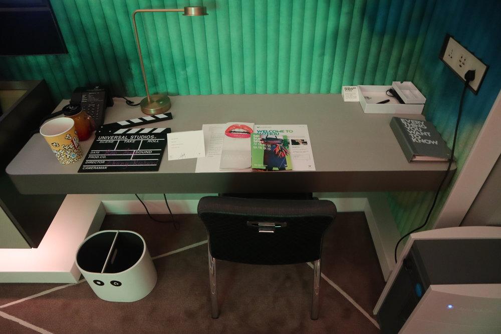 W Suzhou – Spectacular Room desk