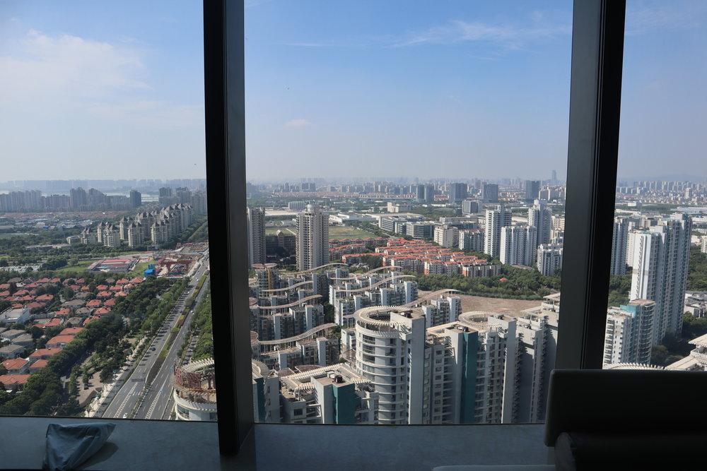 W Suzhou – Spectacular Room windows