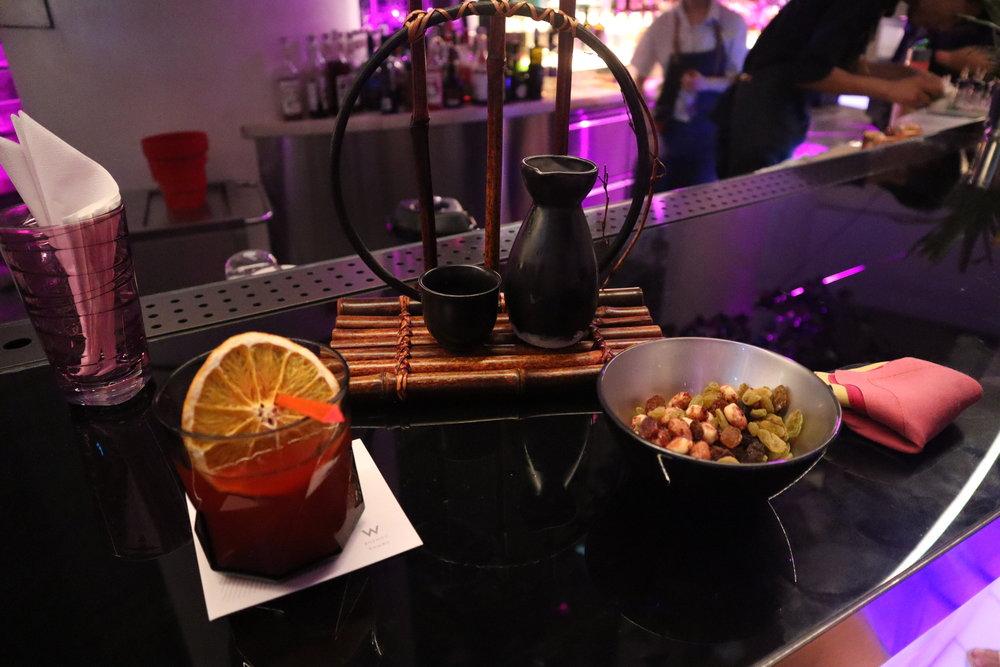 W Suzhou – Woobar complimentary drinks