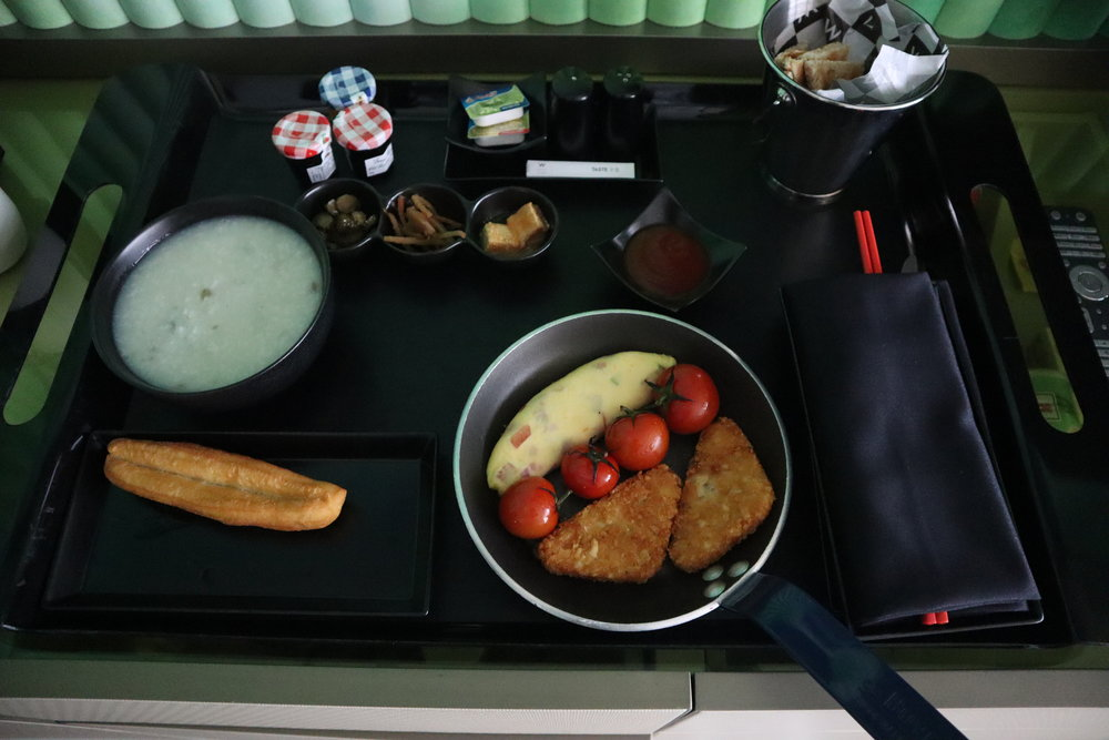 W Suzhou – Room service breakfast