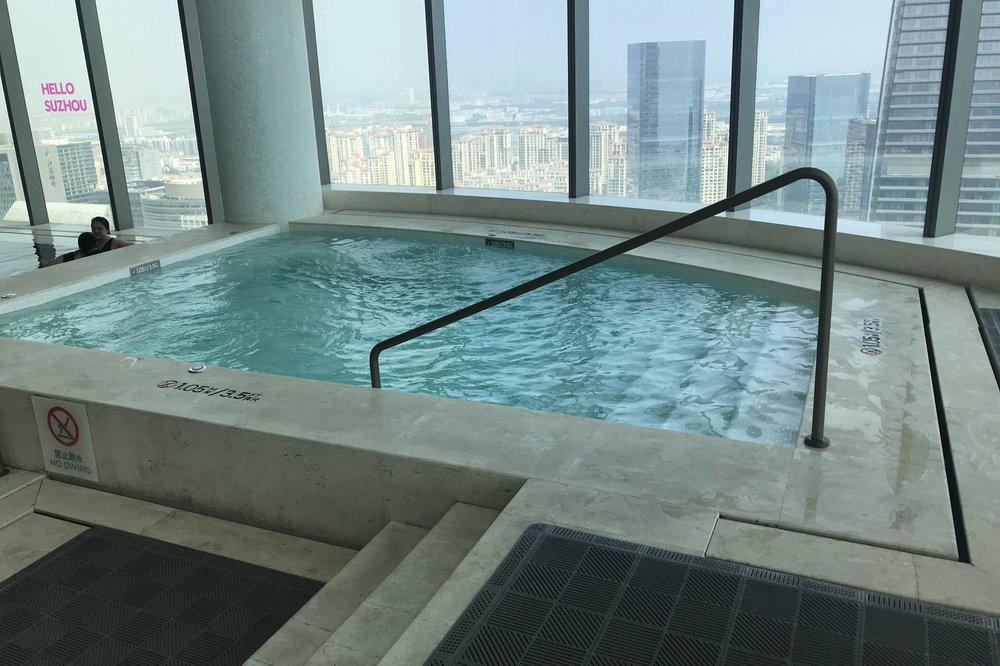 W Suzhou – Heated whirlpool