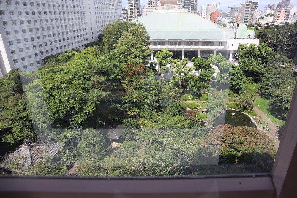 The Prince Sakura Tower Tokyo – View of gardens