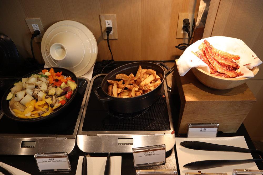 The Prince Sakura Tower Tokyo – Executive Lounge western breakfast