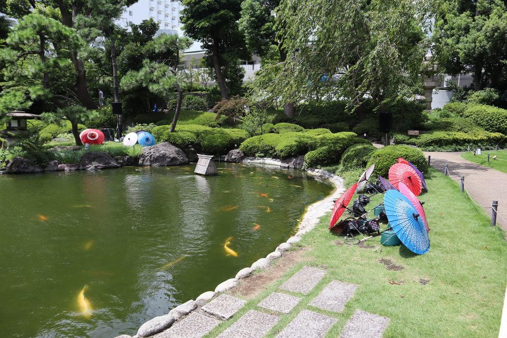 The Prince Sakura Tower Tokyo – Koi pond