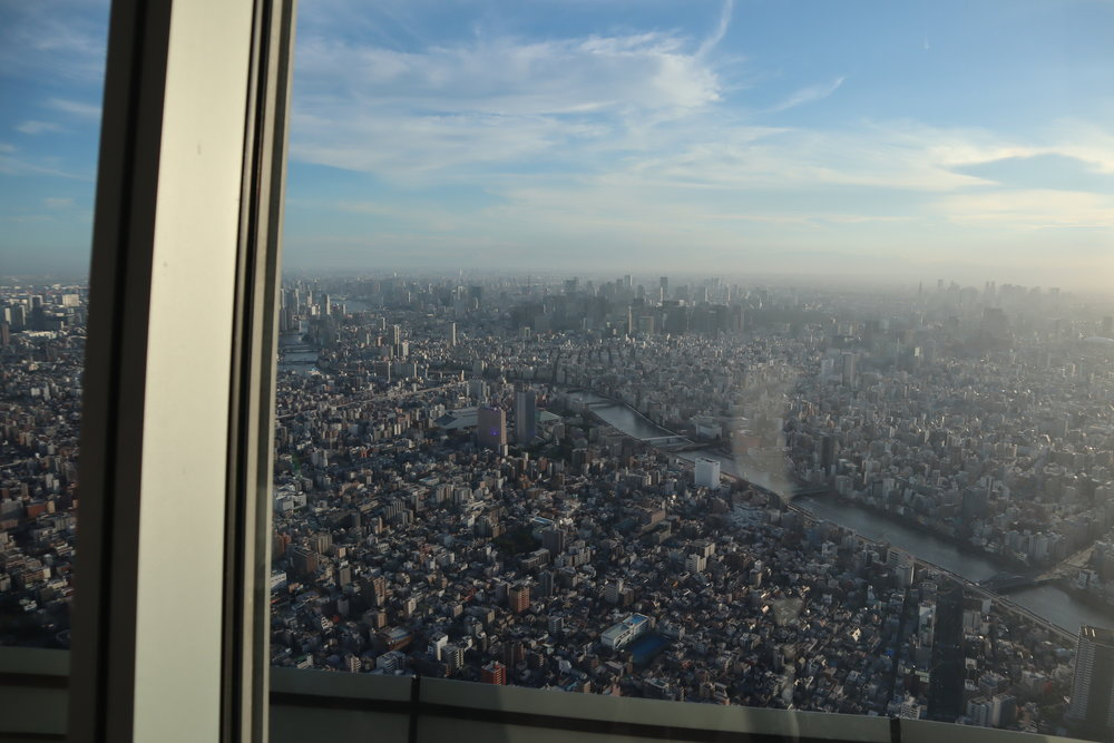 Views from the Tokyo Skytree