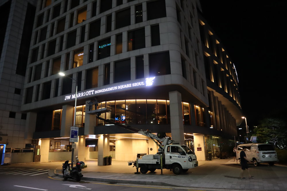 JW Marriott Dongdaemun Square Seoul – Exterior