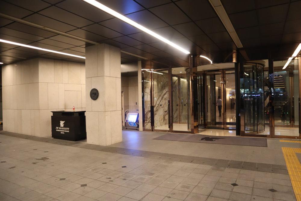 JW Marriott Dongdaemun Square Seoul – Entrance
