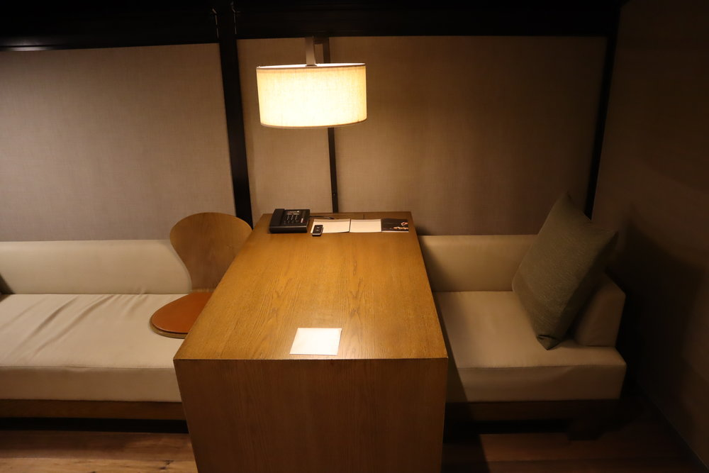 JW Marriott Dongdaemun Square Seoul – Table and chair