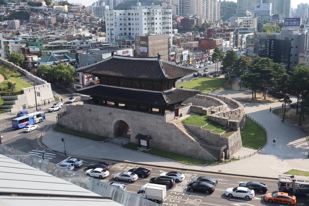 JW Marriott Dongdaemun Square Seoul – View of Dongdaemun