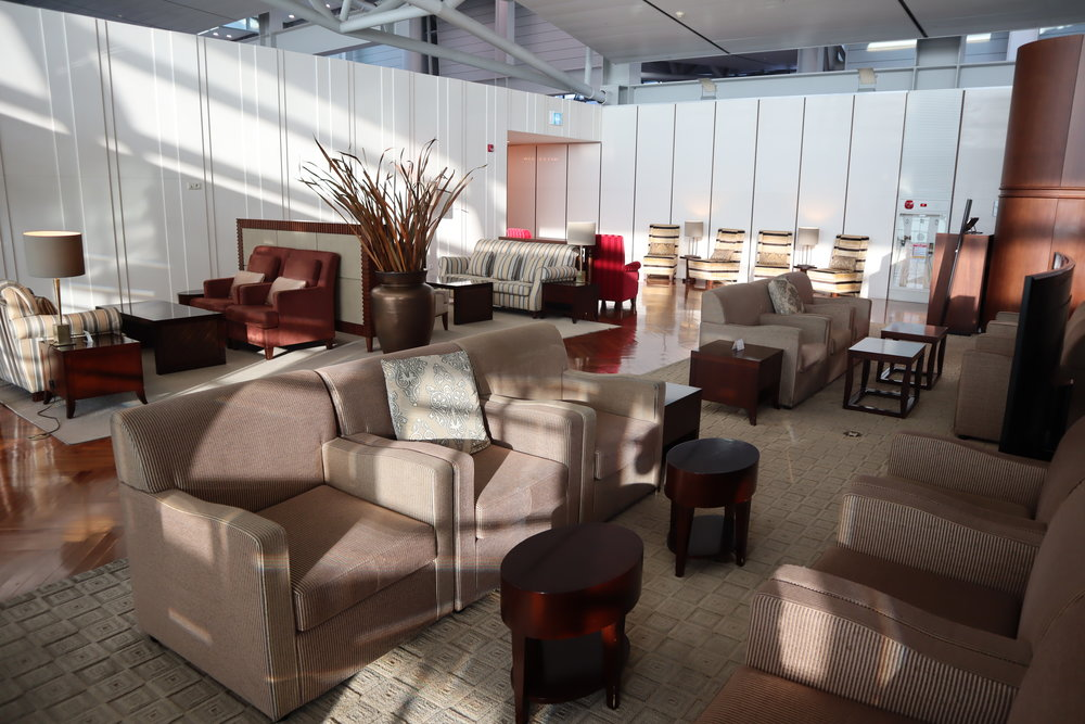 Asiana Airlines First Class Lounge – Seating area